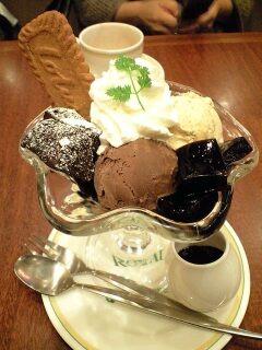 ベルギーショコラパフェ