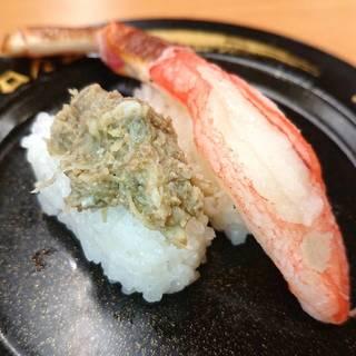 大型生本ずわい蟹&かに味噌和え