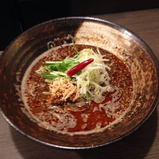 紅黒胡麻担々麺