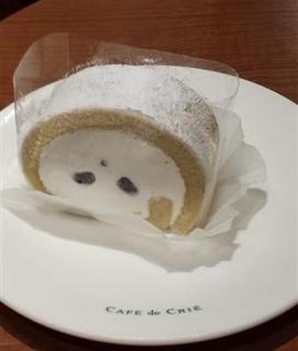 和三盆のロールケーキ