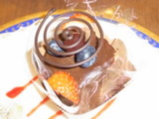 生チョコレートカップ