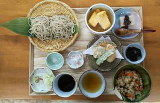 昼の蕎麦膳(1日10食限定)