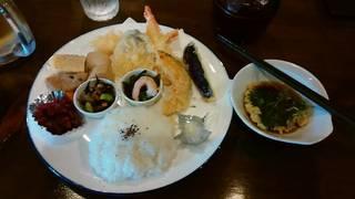 天ぷらプレート