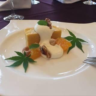 南瓜のガトーショコラ