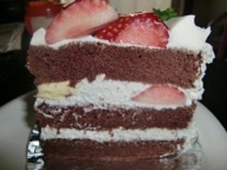 苺ショコラケーキ