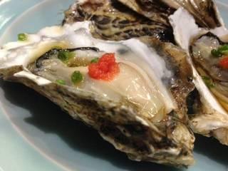お通しの牡蠣