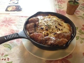 ランチ熱々鉄鍋ステーキ焼きカレー