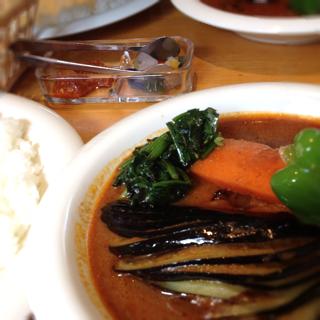 インド風カリー チキンと野菜