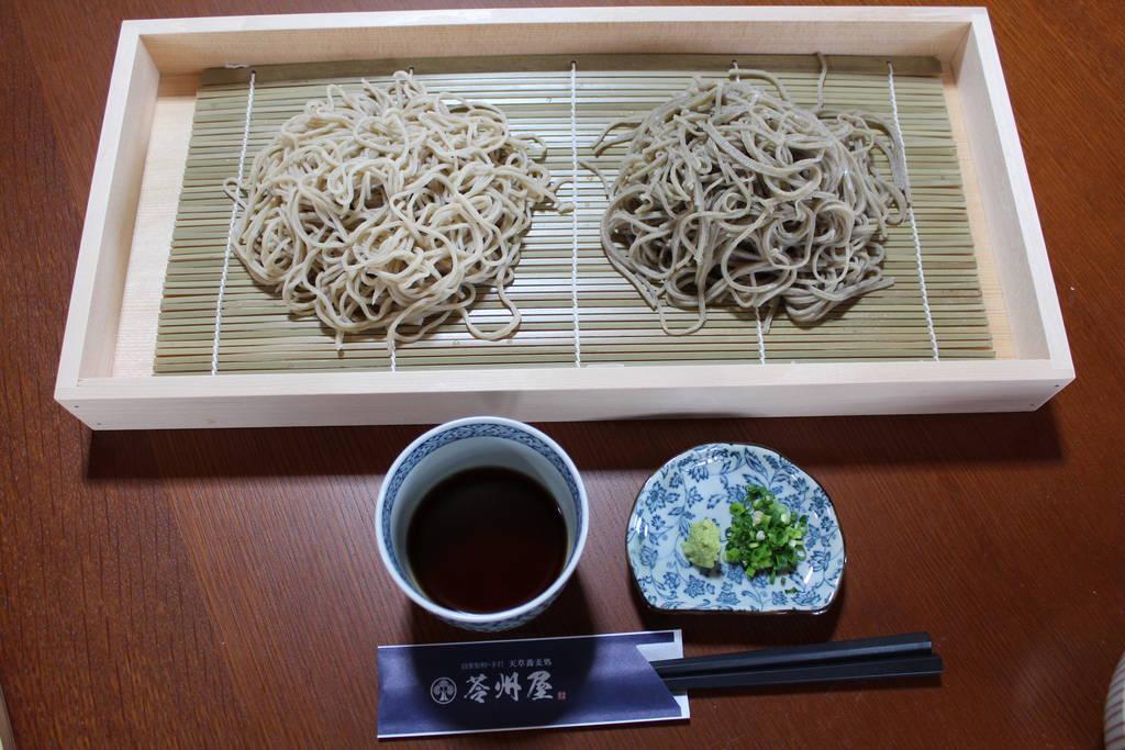 二種盛り蕎麦