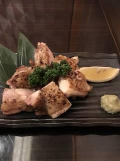地鶏の柚子胡椒焼き