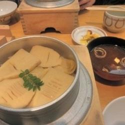 竹の子釜飯