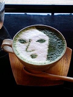 抹茶カプチーノ