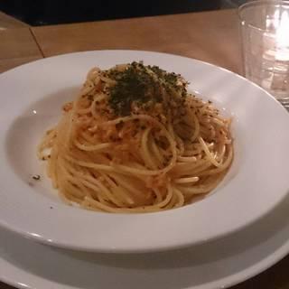 タコのラグー スパゲッティーニ