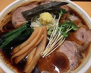 生姜醤油らぁ麺
