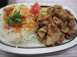 タレ焼きポーク焼肉定食