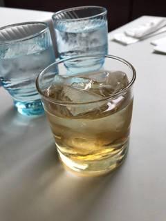 紀州産南高梅酒(ロック)