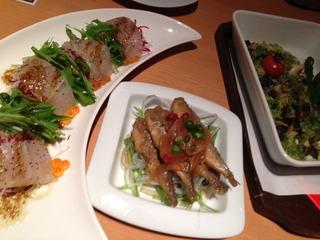 愛媛県産真鯛のカルパッチョ