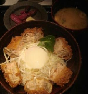 ゲンカツ丼