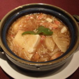 本タラバ蟹と豆腐のうま煮