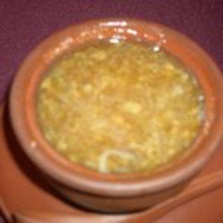 蟹味噌とふかひれのスープ