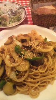 肉味噌スパゲティ