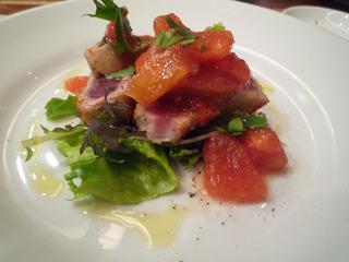 トマトと鮪のカツレツ