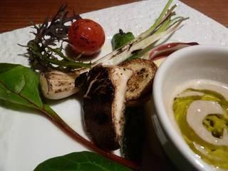 有機野菜のグリエ バーニャカウダソース