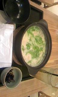 白湯つくねのコラーゲン茶鍋