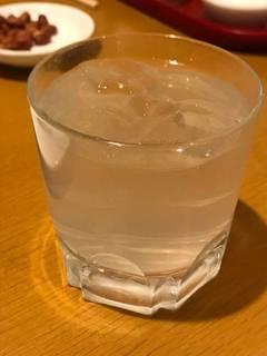 ライチ酒(ロック)