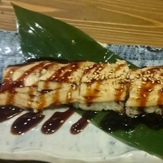 ふわふわ!穴子の一本寿司