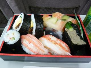 かに寿司盛り合わせ