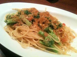ボッタールガとブロッコリーのスパゲッティ