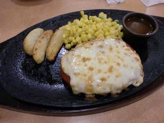 牛挽肉のチーズカツレツ
