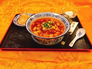 マーボー豆腐麺