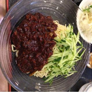 ランチ  ジャージャー麺