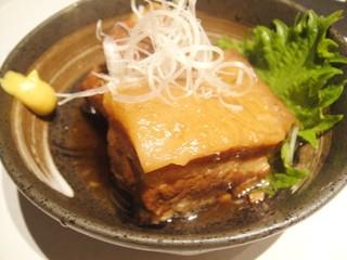 地養豚の角煮