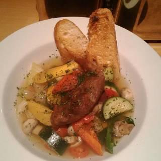 豚タンと季節野菜のスープ仕立て