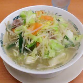 野菜たっぷりタンメン大盛