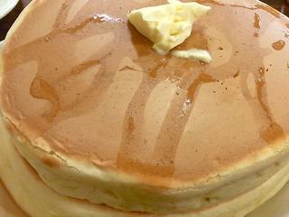 珈琲家特製ホットケーキ