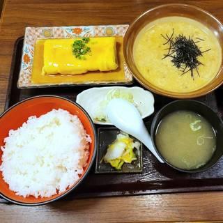 九州麦みそとろろ定食
