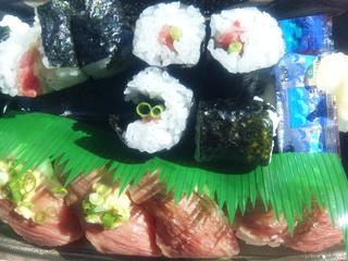 特上飛騨牛握り寿司