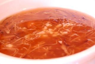 ホタテ入り五目スープ