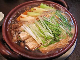 牡蠣と豆腐の手鍋