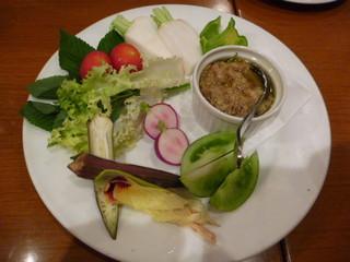 厳選野菜のバーニャカウダ