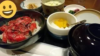 栃木牛のたたき丼