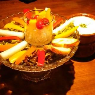 バースデー・記念日コース 野菜のバーニャカウダ