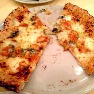 イチジクとゴルゴンゾーラのピザ