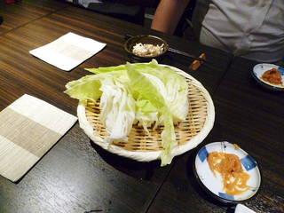 キャベツと味噌