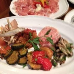 野菜と魚貝の前菜