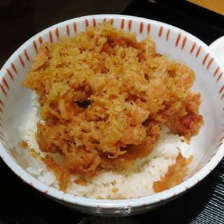 桜海老かき揚丼